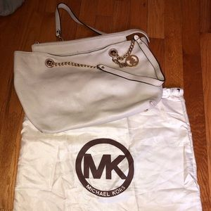 White leather Michael Kors Bag